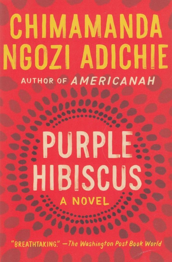 Purple+Hibiscus%2C+a+book+that+presents+an+intricate+critique+on+humanity+by+the+coveted+Chimamanda+Ngozi+Adichie.+