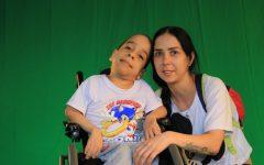TOM participant Matias Rodriguez and his mother, Elizabeth.