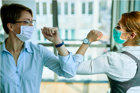 Friendship is maintained during the pandemic by recognizing all precautions.