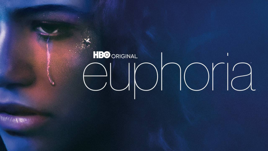 "Zendaya, the protagonist, is pictured on the promotion poster wearing the show's iconic eye makeup. Euphoria's visual elements captivated viewers, but it was the show's authenticity that truly caught the attention of people all around the world. ""Adolescence is cruel, and sweetly naive, in ever-shifting combinations of the two. If there's one thing Euphoria understands perfectly, it's that,"" said reviewer Rebecca Nicholson."
