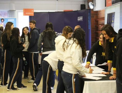 At TCS, 11th graders are deciding which college they want for their future.