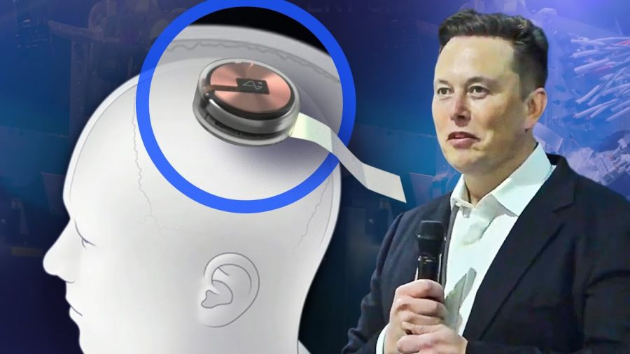 Elon Musk, creator of Neuralink, and his new invention.